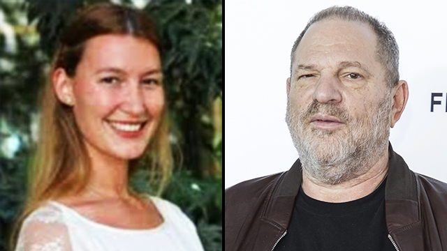 Hollywood mogul Harvey Weinstein and Israeli spy Stella Penn Pechanac (Photo: MCT)