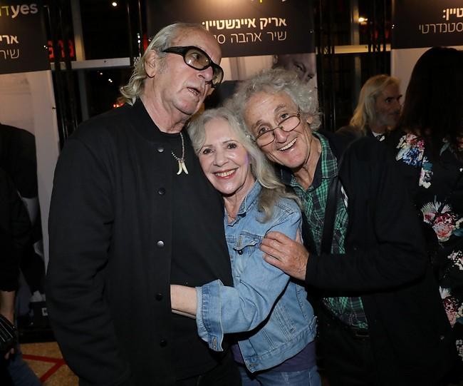 חברים שהם לב. ישראל גוריון, ג'וזי כץ ונתן זהבי (צילום: רפי דלויה)