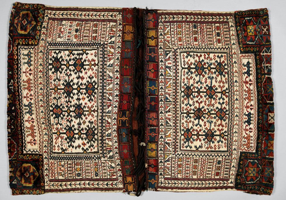המטרופוליטן, ניו יורק: תיקים ארוגים במלאכת יד, משבטים שונים באיראן ובטורקיה. מה היו הסוגיות המעשיות שהעסיקו את המשתמשים? (Image: © The Metropolitan Museum of Art, New York)