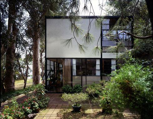 ביתם של בני הזוג בלוס אנג'לס (Image: ©Eames Office LLC, Photo: Timothy Street)