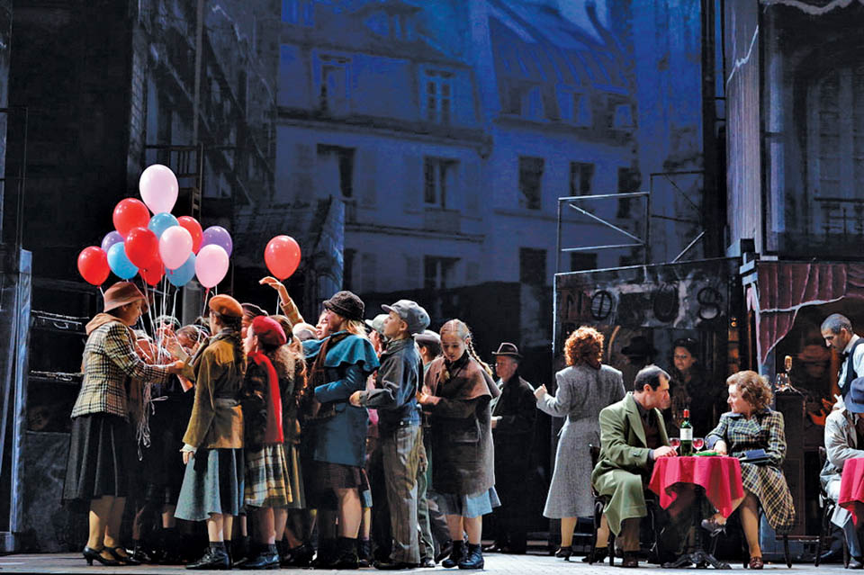 Cцена из спектакля. Фото: пресс-служба Израильской оперы