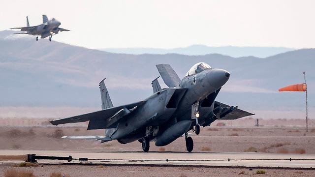 Israeli F-15 fighter jets (Photo: AFP)
