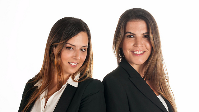 Timoshenko's attorneys Nitzan Harel (L) and Bar Navon (Photo: Noa Luski)