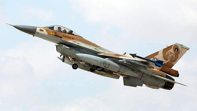 מטוס F-16 ממריא (צילום: EPA)