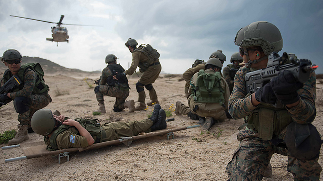 Unit 669 and Garud in joint search & rescue exercise (Photo: IDF)