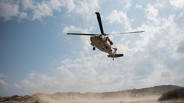 Вертолет-эвакуатор. Фото: ВВС ЦАХАЛа