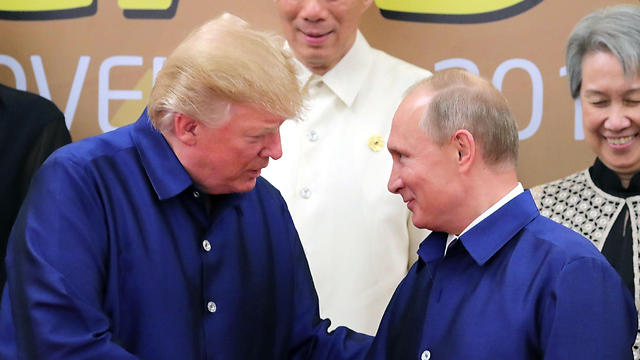Preident Trump and President Putin (Photo: AFP)