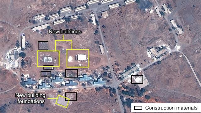 May, 2017 satellite footage (Photo: Digital Globe, McKenze intelligence Services)