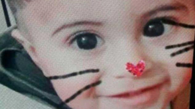 18-month-old Amir Abu Saaluk was killed when a relative, who didn't notice him, struck him with his car