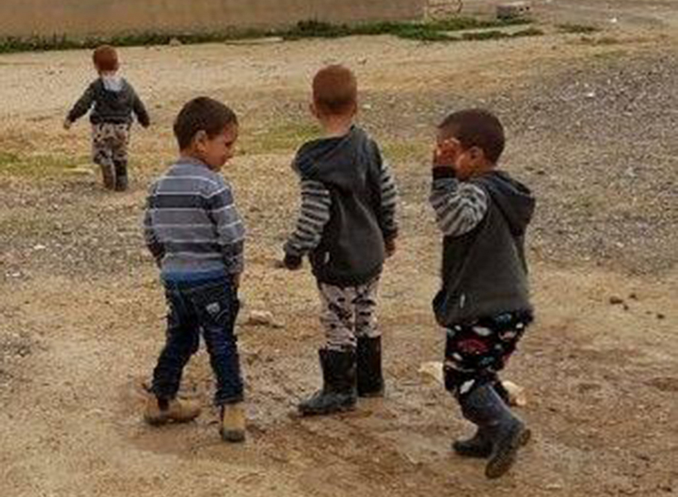 Bedouin children have little secure public spaces to play in