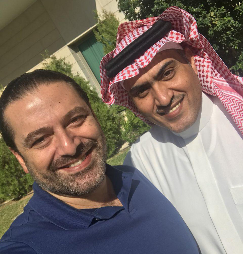 אל-חרירי צילם בביקור הקודם סלפי עם השר הסעודי לענייני המפרץ. דבר לא הכין אותו להפתעה שנרקמה סביבו