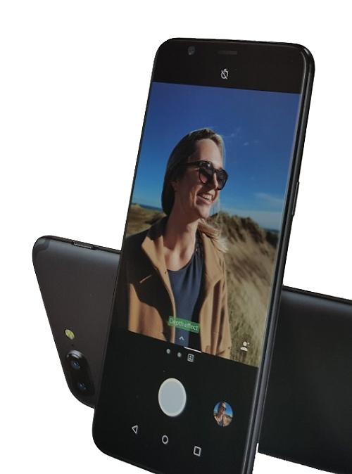 מצלמה כפולה עם עומק שדה (צילום מסך)