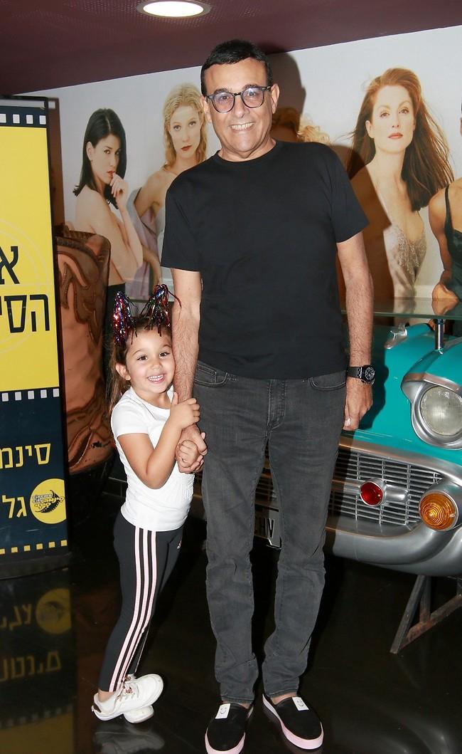 איזה כיף עם אבא. רוני מאנה עם אמילי (צילום: ענת מוסברג)