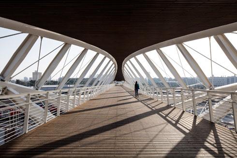 מבט מהגשר (צילום: עמית גרון)