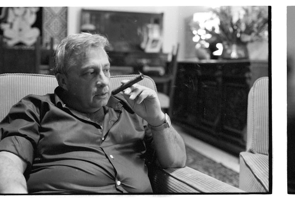 Ариэль Шарон, 1975 год. Фото: Давид Рубингер