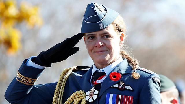 המושלת הכללית של קנדה ז'ולי פאייט (צילום: רויטרס) (צילום: רויטרס)