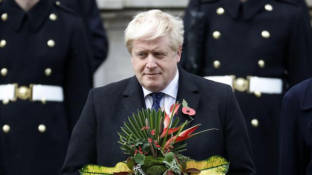 שר החוץ בוריס ג'ונסון (צילום: AFP) (צילום: AFP)