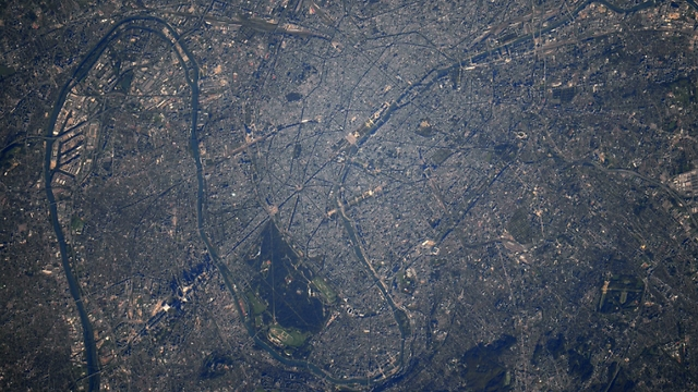 Paris (Photo: Randolph Bresnik, NASA)