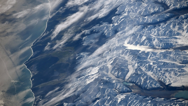 New Zealand (Photo: Randolph Bresnik, NASA)