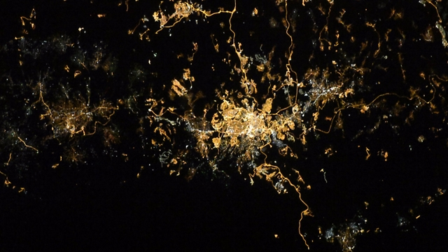 Jerusalem of gold (Photo: Randolph Bresnik, NASA)