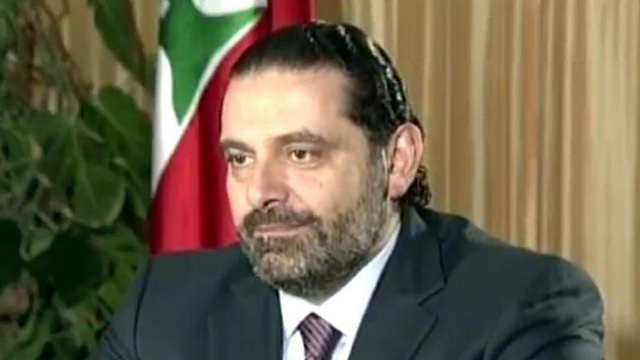 Lebanon's Prime Minister Saad Hariri, in the interview