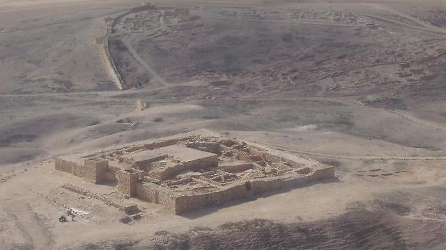 המצודה בתל ערד (צילום: אסף צ)