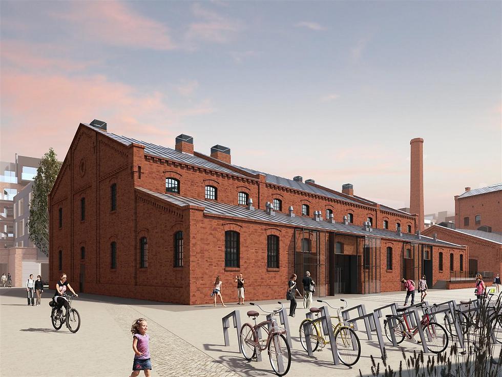 """כאן יוקם מוזיאון הוודקה הפולני (צילום: יח""""צ) (צילום: יח"""