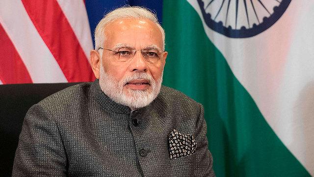 ראש ממשלת הודו נרנדה מודי (צילום: AFP) (צילום: AFP)
