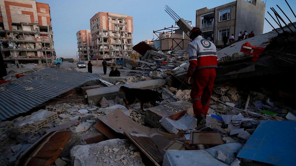 רעידת האדמה בעיראק שהורגשה גם בישראל (צילום AFP)