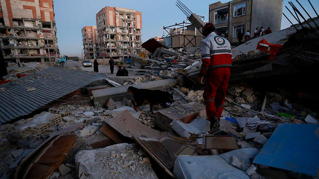רעידת האדמה בעיראק - שהורגשה גם בישראל (צילום AFP) (צילום AFP)