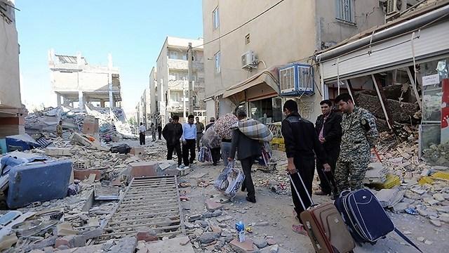 רעידת האדמה בעיראק - צלצול השכמה לישראל (צלמים איראנים)