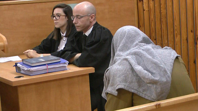 הקצין, היום בבית המשפט (צילום: ליהי קרופניק)