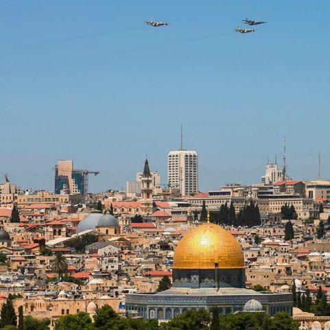 ירושלים. ברבעון האחרון: +3%, בשנה האחרונה: -5%   צילום: אוהד צויגנברג