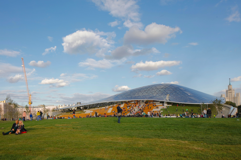 פארק זאראדייה החדש בעיר ()