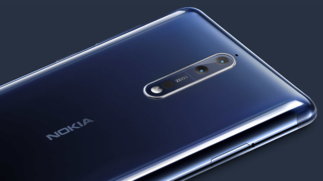 Nokia 8 (צילום: נוקיה)