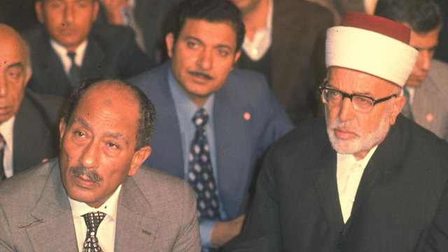 Sadat in Israel (Photo: GPO)