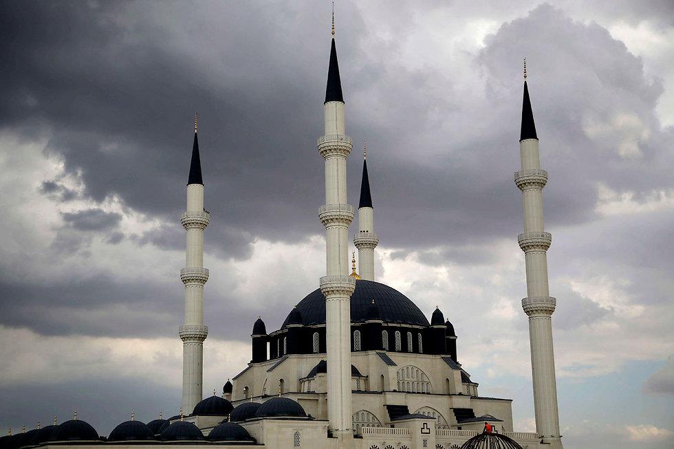מסגד חאלה סולטן בקפריסין (צילום: AP)