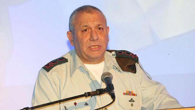 IDF Chief of Staff Gadi Eisenkot (Photo: Matan Torkia)
