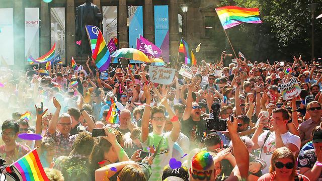 חגיגות במלבורן, אוסטרליה (צילום: Getty)