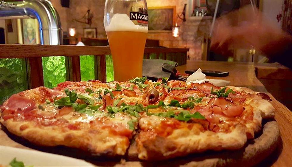 """המנה האהובה מכולן. הפיצה של KAMUN  (צילום: יח""""צ) (צילום: יח"""