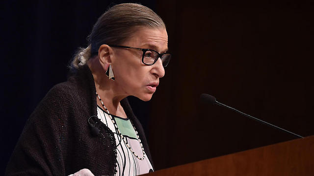 Supreme Court Justice Ruth Bader Ginsburg is to be awarded the Genesis Prize in 2018 (Photo: AFP)