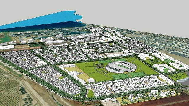 הדמיה של הרובע החדש באילת (באדיבות עיריית אילת) (באדיבות עיריית אילת)