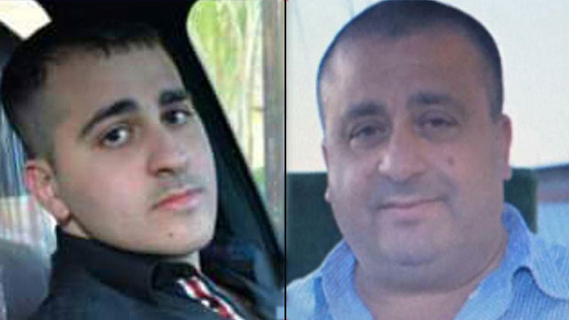 האב מוסטפא והבן עלאא עמאר שנרצחו בפברואר ()