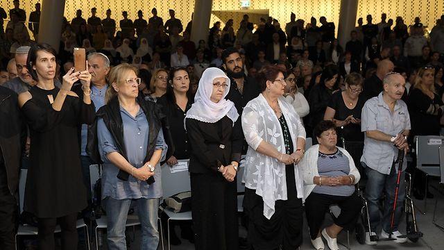 הטקס הממלכתי לאסונות צור (צילום: יואב דודקביץ) (צילום: יואב דודקביץ)