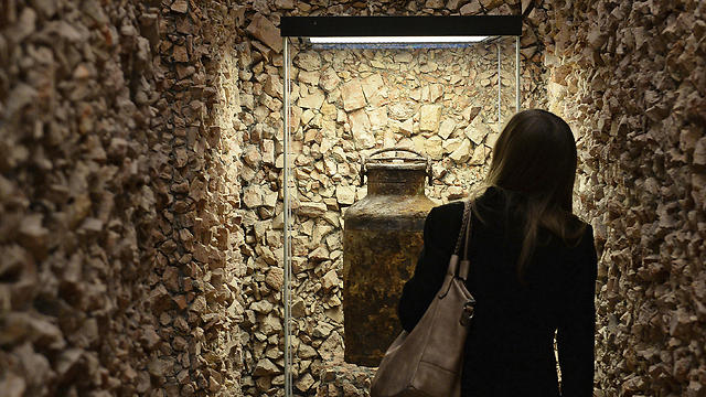 An exhibition opened at a Warsaw museum showcasing documents from the city's ghetto (Photo: AP)