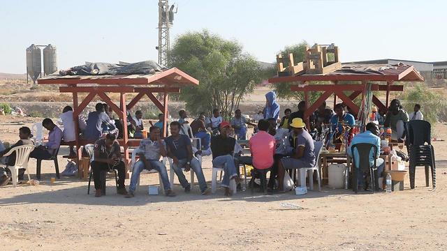 Eritrean asylum seekers in Israel (Photo: Motti Kimchi)