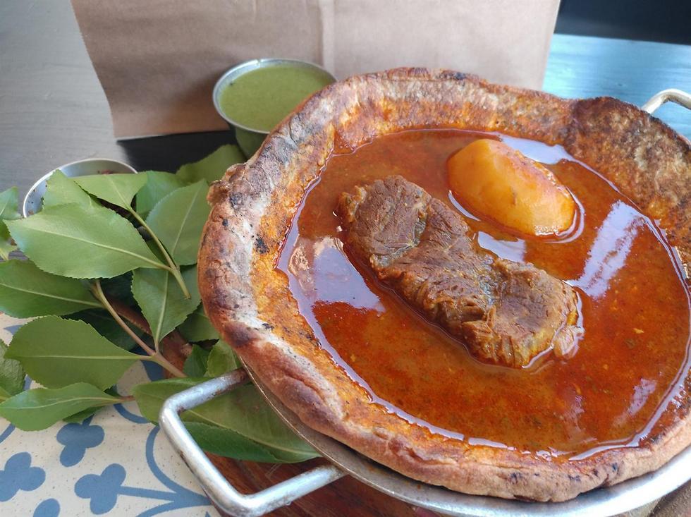 """מרק תימני עם בשר ותפוחי אדמה (צילום: יח""""צ) (צילום: יח"""