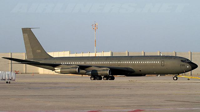 וכיום, כמטוס תדלוק של חיל האוויר הישראלי (צילום: Airliner.net, יוחאי מוסי ) (צילום: Airliner.net, יוחאי מוסי )
