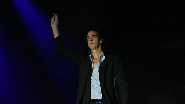 פריצ'רמן ששולט בקהל כמו שאף אחד לא שלט בקהל לפניו. מתוך ההופעה (צילום: ירון ברנר)