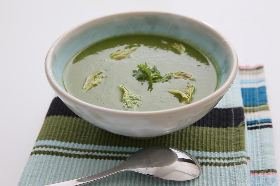 מרק ירוקים (צילום: ירון ברנר) (צילום: ירון ברנר)